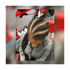 Long Ponytail with Multiple Braids - 40 Best Sporty Hairstyles for Workout – The Right Hairstyles - The Trending Hairstyle Sporty Hairstyles, Weave Hairstyles, Protective Hairstyles, Protective Styles, Wedding Hairstyles, Natural Braid Styles, Curly Hair Styles, African Braids, Ghana Braids