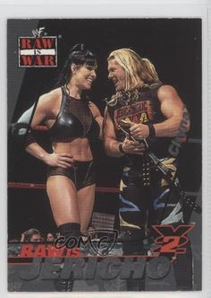 Chris Jericho War Booty Carte 2001 FLEER WWF War Booty Carte..