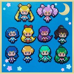 Sailor Moon hama beads by maicrafts
