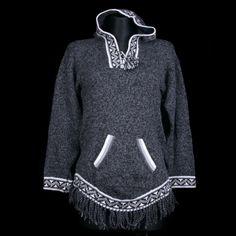damski sweter z wełny alpaki