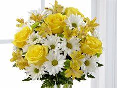 Bukiet, Kwiatów, W Oknie, Alstremerie, Chryzantemy, Róże