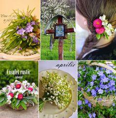 Jurnal cu flori mozaicul lunii aprilie