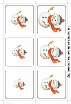 Ordenar de mayor a menor Seasons Activities, Winter Activities For Kids, Winter Crafts For Kids, Christmas Activities, Christmas Crafts, Preschool Worksheets, Kindergarten Activities, Preschool Activities, Winter Theme