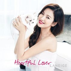 Song Hye Kyo Shows Her Natural Beauty with 'Laneige' Photoshoot | Koogle TV