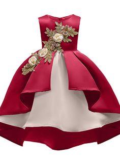 New Kids Elegant Toddler Girls Party Dress For Girls Princess Dress Girls Costume Christmas Dress Children Clothing 8 9 10 Year Kids Pageant Dresses, Wedding Dresses For Girls, Girls Party Dress, Toddler Girl Dresses, Birthday Dresses, Little Girl Dresses, Girls Dresses, Flower Girl Dresses, Midi Dresses