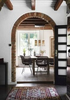 A nice interior, to say the least. The brick gives it a great little twist and overall awesome touch.