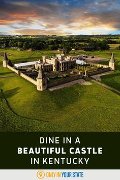 Enjoy a delicious meal while dining at this beautiful and unique castle restaurant in Kentucky. Most of the fresh farm to table food comes from the eatery's garden. Find it in charming Versailles, near Lexington. You can even spend the night or rent the space as an event or wedding venue.