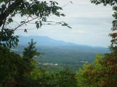 Paris Mountain State Park: View from an opening in the trees. We saw this on our trail walk today!!