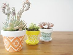 how to paint a pot