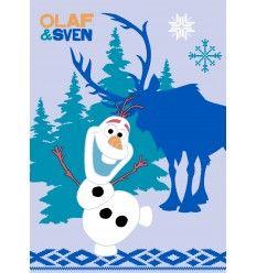 Tapis « La reine des neiges » Olaf