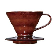 Hario Ceramic Size 01 Coffee Cup Dripper / Brewer Chocolate Brown ** Don't get left behind, see this great product : Coffee Maker