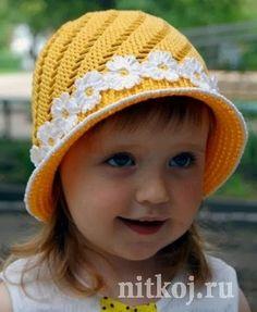 L'angelo dell'uncinetto: Cappello per bambina