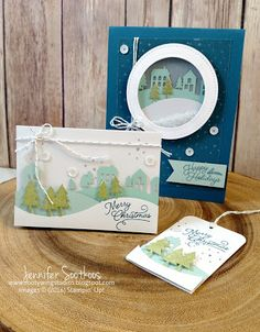 Sootywing Studios, November 2016 Paper Pumpkin, Stampin' Up!, Christmas cards and tags