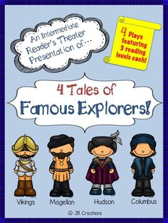 Focus on differentiation! This reader's theater set features 4 New World explorers written on 3 separate reading levels for a total of 16 plays! Each script contains 6-7 parts. Modified versions provide support in basic fluency skills, regular versions focus on expression development, and enriched versions challenge students with tier 2 vocabulary! ahttp://www.teacherspayteachers.com/Product/Readers-Theater-4-Famous-Explorer-Tales-differentiated-reading-levels-1577271