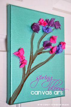 Spring Bloom Canvas Art