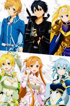 """예리(イェリ) 🦈🌸 on Twitter: """"#sao_anime SAO finished... 😌😪💤… """" Sao Anime, Chica Anime Manga, Kawaii Anime Girl, Anime Art Girl, Sword Art Online Wallpaper, Accel World, Sword Art Online Kirito, Dragon Knight, Beautiful Fantasy Art"""