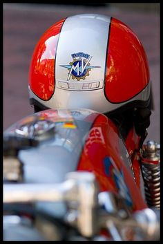 """MV Agusta"" by Eric Flexyourhead Mv Agusta, Honda Cb, Cafe Racer Motorcycle, Motorcycle Helmets, Motorcycle Manufacturers, Ducati Motorcycles, Biker Gear, Bobber Chopper, Vintage Racing"
