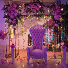 Sweet 16 Party Decorations, Sweet 16 Themes, Quince Decorations, Boho Wedding Decorations, Pink Themes, Enchanted Forest Quinceanera Theme, Purple Sweet 16, Red Birthday Party, Butterfly Garden Party