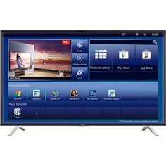 """[USA] Smart TV LED 50"""" TCL L50E5800US Ultra HD 4K com Android tv - R$ 2.699,99 em 1x no cc"""