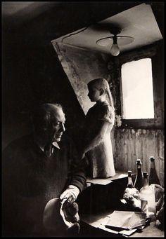 Sanford Roth, Picasso in Studio