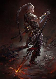 Idris, templare della Fiamma Arcana. È l'unico ad essere rimasto tra le rovine di Darth Mortha, l'ormai abbandonata base dell'ordine. Schivo e fedele agli ordini, è un abilemago che ha fatto della sua lancia ardente la sua unica compagnia.