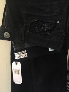 c531cdf4462d Designer Habitual brand Womens Jeans Amber Straight Leg Dark Blue Size 24  NWT  fashion