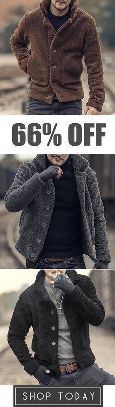 CYJ-shiba Mens Hipster Winter Long Sleeve Pocket Side Zipper Hoodies Sweatshirts Jacket