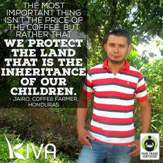 Meet Jairo, an inspirational 22-year-old #coffee farmer, a proud father & a BIG supporter of the #environment. Jairo hopes to convert his farm to #organic! Help #FairTrade farmers like Jairo realize their dreams by lending money via @kivaorg  & make a difference TODAY: http://fairtrd.us/1ksQCDx #BeFair #empowerment