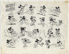 mickey mouse drawings looking up - Поиск в Google