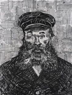 Portrait of the Postman Joseph Roulin 1888, Arles, Bouches-du-Rhône, France