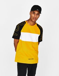 d65ec08d4f56 Discover trendy men s T-shirts   polos at Bershka this AW Get striped