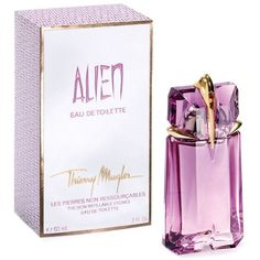 Alien by Thierry Mugler Eau de Toilette, 2.0 oz. ($79) ❤ liked on Polyvore featuring beauty products, fragrance, perfume, no color, thierry mugler perfume, eau de toilette perfume, edt perfume, perfume fragrance and eau de toilette fragrance