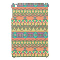 Colorful Aztec Pattern iPad Mini Case