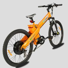 E-go Electric Bicycle E Bike 1000w 48v13ah Orange Pedal Assist Moped. Strong driving force 1000W Motor. Max Speed: 28 mph Shimano External 7 Speed. PAS: 9 Level Speed Assistan Large Screen Display for Battery Life, Distance, and Speed. Battery:Lithium Ion Battery 48v 13ah ICR18650-26F. Brake Type: Disc Brakes - Hydraulic Bicycle Weight : 56 LBS Max loading:220 LBS.