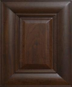 American Walnut Sample Door