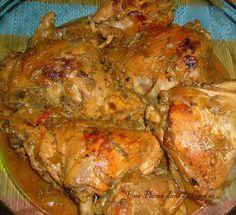 Fricassée de poulet à l'antillaise