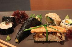 Sushi amb arròs integral del restaurant Hortet