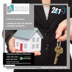 5 dudas al vivir de alquiler. Convertirse en inquilino no está exento de preguntas. https://alvarezabogadostenerife.com/?p=5019 #alquiler #propiedadhorizontal #contratos #abogadostenerife