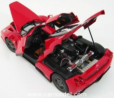 MATTEL HOT WHEELS N2058 1/18 FERRARI ENZO 2005 - PERSONAL CAR MICHAEL SCHUMACHER