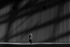 Alone. Silence, loneliness, and minimalism in Tokyo's urban spaces captured in black and white by Japanese photographer Hiroharu Matsumoto.