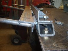 Home made sheet metal brake - Pirate4x4.Com : 4x4 and Off-Road Forum