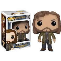 This is the Harry Potter POP Sirius Black Vinyl Figure that is produced by Funko. Harry Potter POP Vinyl's have been eagerly awaited by the fans and it's neat to finally see them arriving. Sirius look Harry Potter Pop Vinyl, Harry Potter Pop Figures, Harry Potter Sirius, Funko Harry Potter, Luna From Harry Potter, Sirius Black, Pop Vinyl Figures, Voldemort, Draco Malfoy