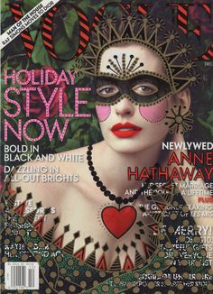 Anne Hathaway and another weird and wonderful cover!