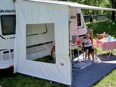 Fiamma Side W Caravanstore and F35 Side Blocker Panel
