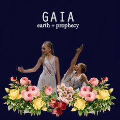 Dance Moms Girls as Greek Goddesses || Maddie Ziegler as Gaia {earth + prophecy}