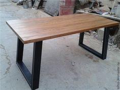 Купить Кухонный стол в стиле Loft на заказ. арт-181 - комбинированный, стол
