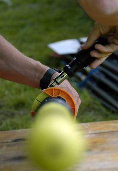 Rowing inboard oar adjustment and orange oar clam photo. #rowperfect