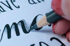 Anleitung Handlettering für Anfänger | Lettering | Faux Calligraphy | Fineliner | Ideen und Inspiration für Handlettering | Gelbkariert Blog