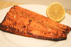 Soy Honey Salmon