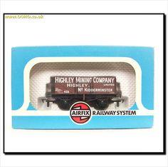 """BOXED AIRFIX 54382 - 7 PLANK WAGON """"HIGHLEY MINING COMPANY"""" on eBid United Kingdom"""
